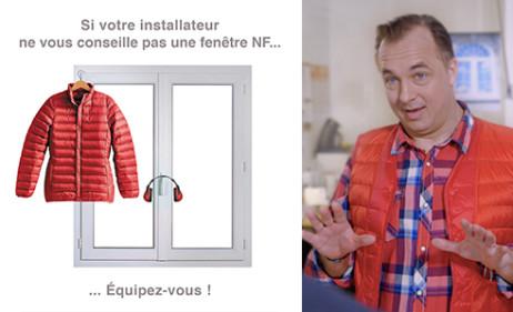 Une nouvelle campagne de communication pour les fenêtres certifiées NF